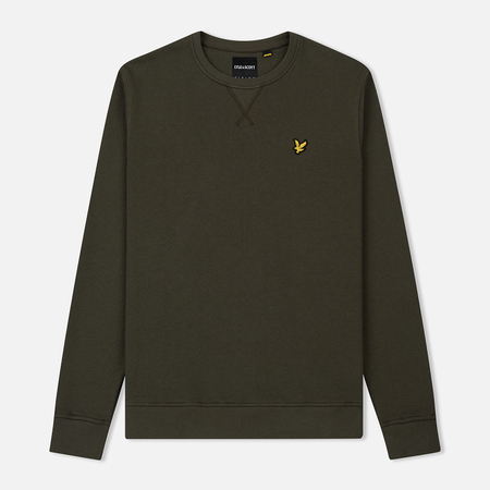 Мужская толстовка Lyle & Scott Classic Crew Neck Dark Sage
