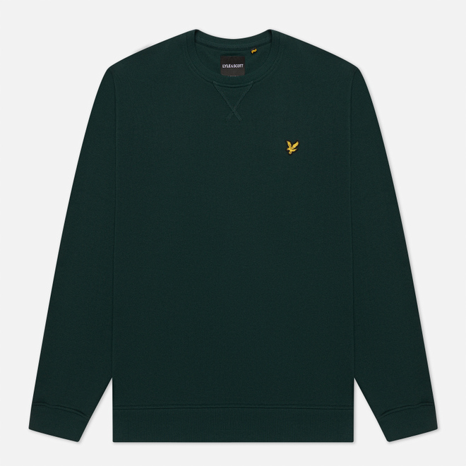 Мужская толстовка Lyle & Scott Classic Crew Neck Jade Green