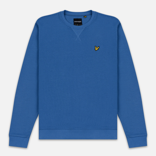 Мужская толстовка Lyle & Scott Classic Crew Neck Lapis Blue