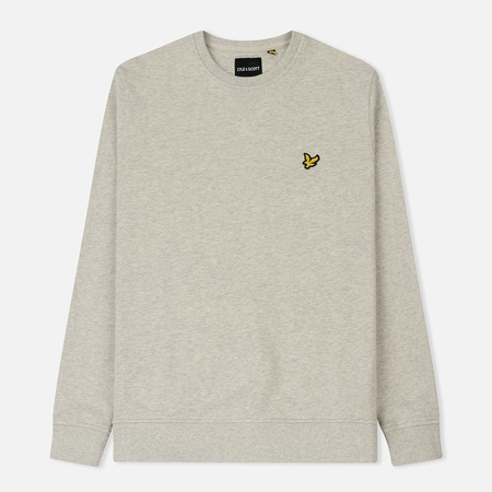 Мужская толстовка Lyle & Scott Classic Crew Neck Light Grey Marl