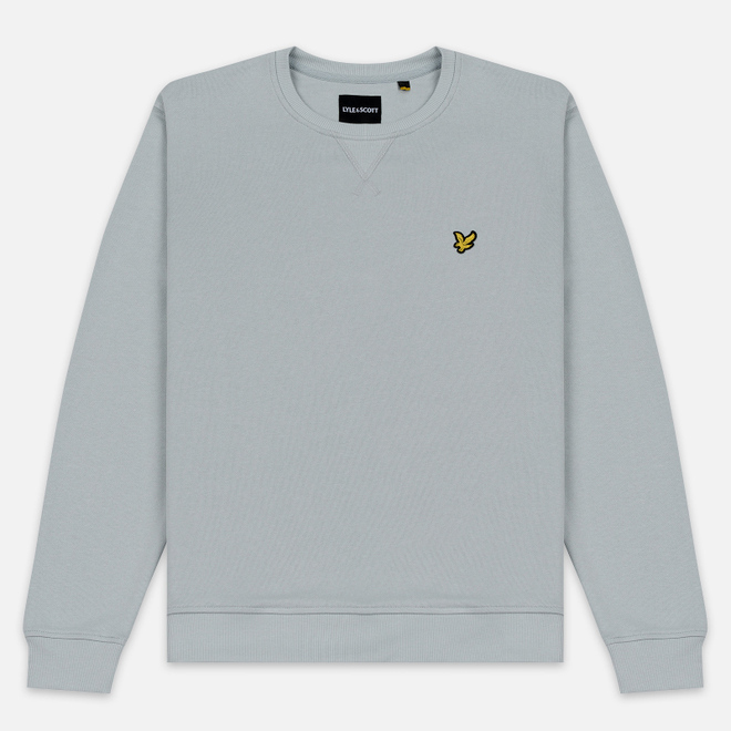 Мужская толстовка Lyle & Scott Classic Crew Neck Light Silver