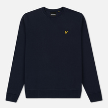 Мужская толстовка Lyle & Scott Classic Crew Neck Navy фото- 0