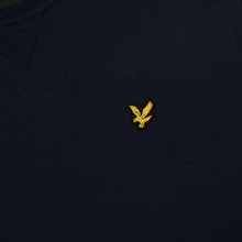 Мужская толстовка Lyle & Scott Classic Crew Neck Navy фото- 2