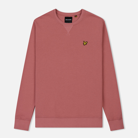 Мужская толстовка Lyle & Scott Classic Crew Neck Pink Shadow