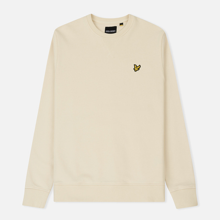 Мужская толстовка Lyle & Scott Classic Crew Neck Seashell White
