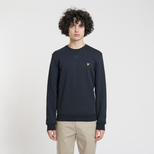 Мужская толстовка Lyle & Scott Classic Crew Neck True Black фото- 1