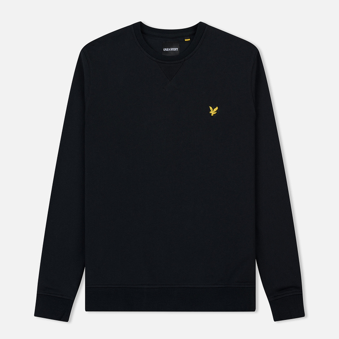 Мужская толстовка Lyle & Scott Classic Crew Neck True Black