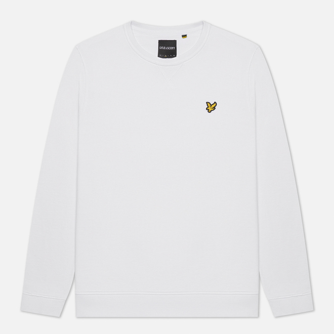 Мужская толстовка Lyle & Scott Classic Crew Neck White