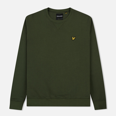 Мужская толстовка Lyle & Scott Classic Crew Neck Woodland Green