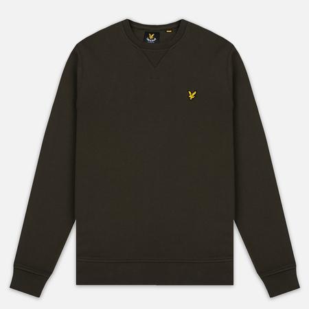 Lyle & Scott Crew Neck Men's Sweatshirt Dark Sage