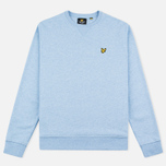 Мужская толстовка Lyle & Scott Crew Neck Loopback Blue Marl фото- 0