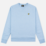 Lyle & Scott Crew Neck Loopback Men`s Sweatshirt Blue Marl photo- 0