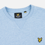 Lyle & Scott Crew Neck Loopback Men`s Sweatshirt Blue Marl photo- 1
