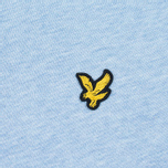 Мужская толстовка Lyle & Scott Crew Neck Loopback Blue Marl фото- 2