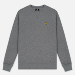 Мужская толстовка Lyle & Scott Crew Neck Mid Grey Marl фото- 0