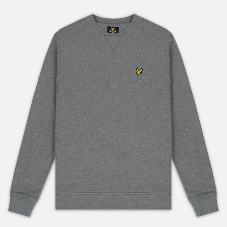 Мужская толстовка Lyle & Scott Crew Neck Mid Grey Marl