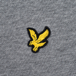 Мужская толстовка Lyle & Scott Crew Neck Mid Grey Marl фото- 2
