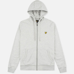 Мужская толстовка Lyle & Scott Zip Through Hoodie Light Grey Marl фото- 0
