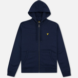 Мужская толстовка Lyle & Scott Zip Through Hoodie Navy фото- 0