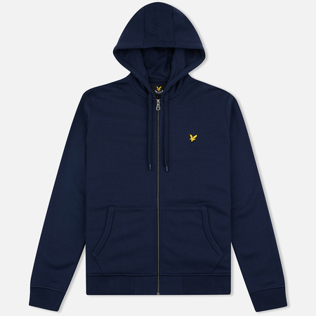Мужская толстовка Lyle & Scott Zip Through Hoodie Navy