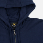 Мужская толстовка Lyle & Scott Zip Through Hoodie Navy фото- 1