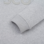 Мужская толстовка Lyle & Scott Graphic Crew Neck Light Grey Marl фото- 3