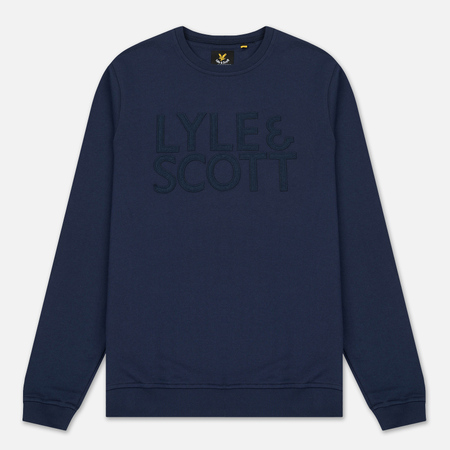 Мужская толстовка Lyle & Scott Graphic Crew Neck Navy