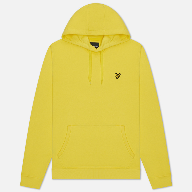 Мужская толстовка Lyle & Scott Hoodie Buttercup Yellow