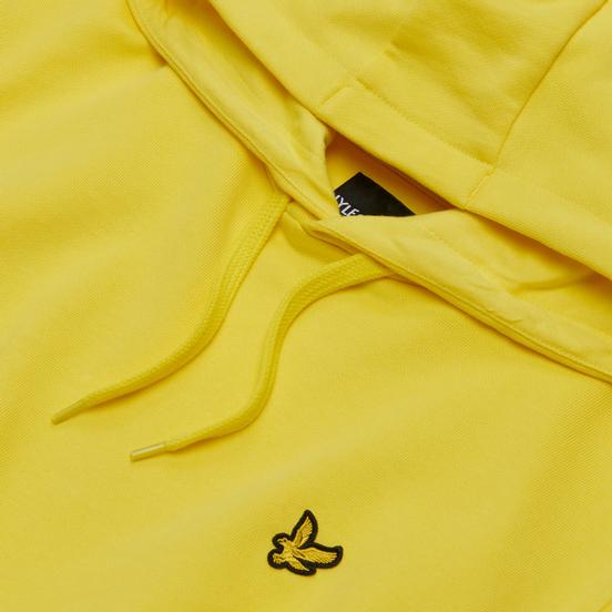 Мужская толстовка Lyle & Scott Hoodie Buttercup Yellow