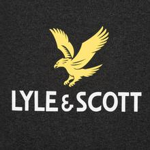 Мужская толстовка Lyle & Scott Logo Charcoal Marl фото- 2