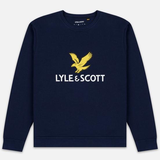Мужская толстовка Lyle & Scott Logo Navy