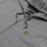 Мужская толстовка Lyle & Scott Zip Through Hoodie Mid Grey Marl фото- 1
