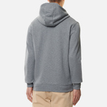 Мужская толстовка Lyle & Scott Zip Through Hoodie Mid Grey Marl фото- 2