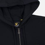 Мужская толстовка Lyle & Scott Zip Through Hoodie True Black фото- 1