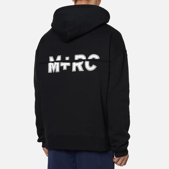 Мужская толстовка M+RC Noir Split Hoodie Black