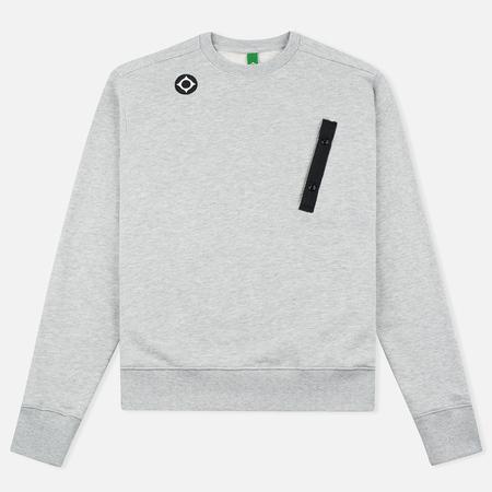 MA.Strum Crew Neck Chest Pocket Fleece Men`s Sweatshirt Grey Marl