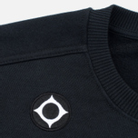 Мужская толстовка MA.Strum Crew Neck Chest Pocket Fleece Jet Black фото- 2
