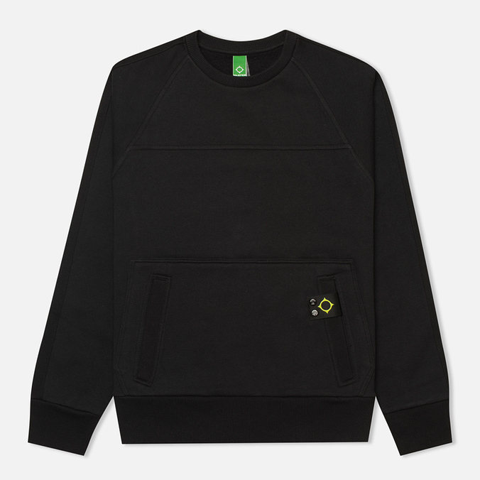 Мужская толстовка MA.Strum Crew Neck Track Jet Black