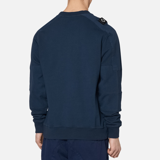 Мужская толстовка MA.Strum Garment Dyed Crew True Navy