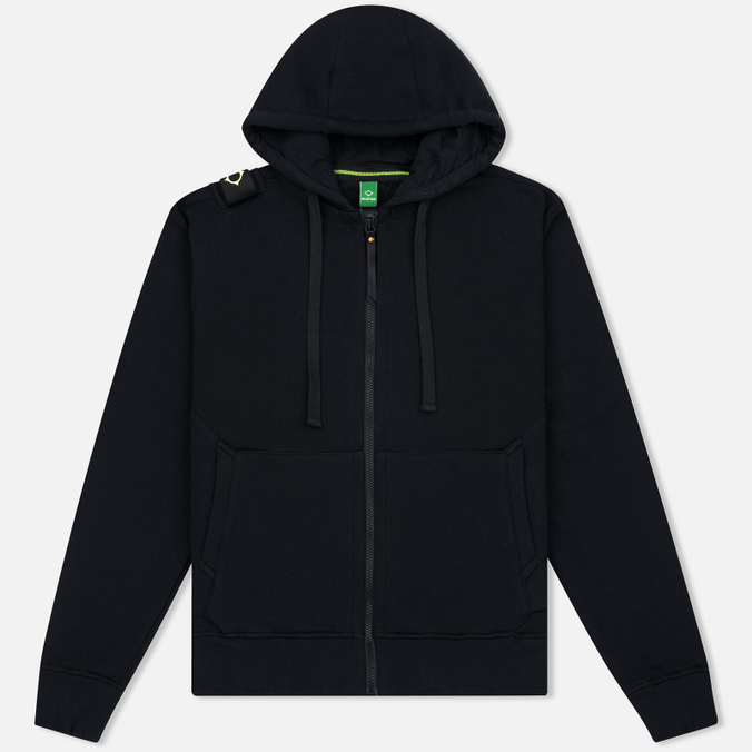Мужская толстовка MA.Strum Hooded Zip Thru Herringbone Jet Black