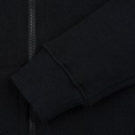 Мужская толстовка MA.Strum Hooded Zip Thru Herringbone Jet Black фото- 2