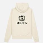 Мужская толстовка MA.Strum Hornsby M.S.C.17 Overhead Hoody Merchant White фото- 5