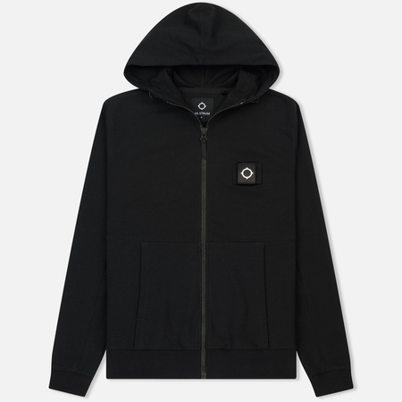 Мужская толстовка MA.Strum Lamprey Zip-Up Hood Jet Black