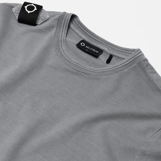 Мужская толстовка MA.Strum Lightweight Garment Dyed Crew Quicksilver