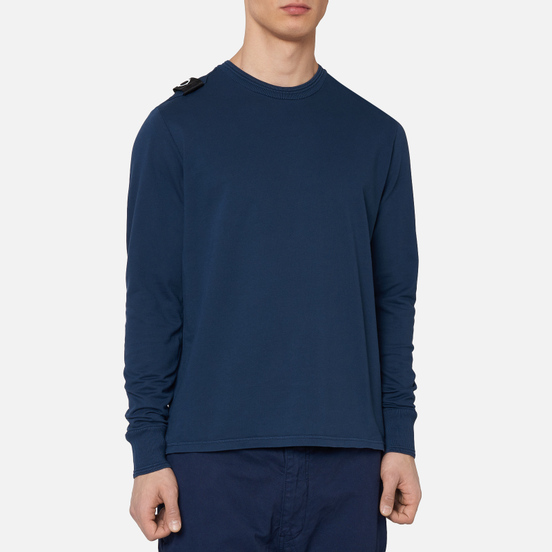 Мужская толстовка MA.Strum Lightweight Garment Dyed Crew True Navy