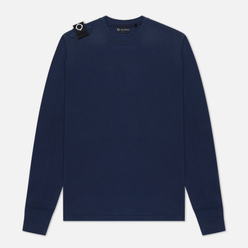 Мужская толстовка MA.Strum Lightweight Garment Dyed Crew True Navy