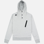 MA.Strum Overhead Fleece Men's Hoodie Grey Marl photo- 0