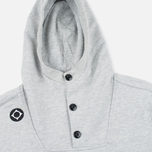 MA.Strum Overhead Fleece Men's Hoodie Grey Marl photo- 1