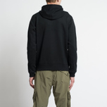 Мужская толстовка MA.Strum Patton Pouch Pocket Zip Through Hooded Jet Black фото- 7