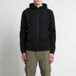 Мужская толстовка MA.Strum Patton Pouch Pocket Zip Through Hooded Jet Black фото- 6